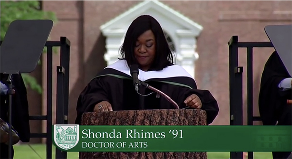Shona Rhimes, doctor of Arts