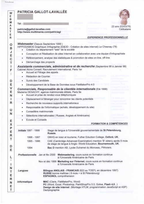exemple cv docteur en pharmacie